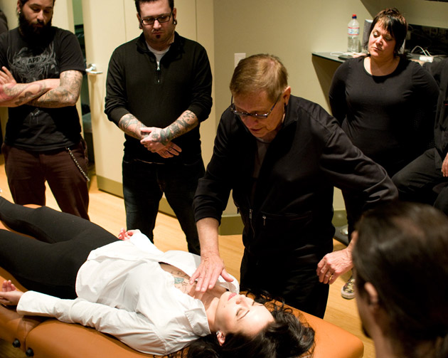 photo from advanced piercing class